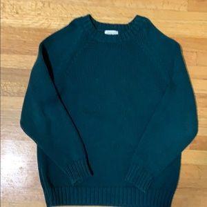 Boys hunter green sweater